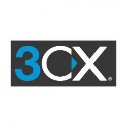 3CX logo grey_background